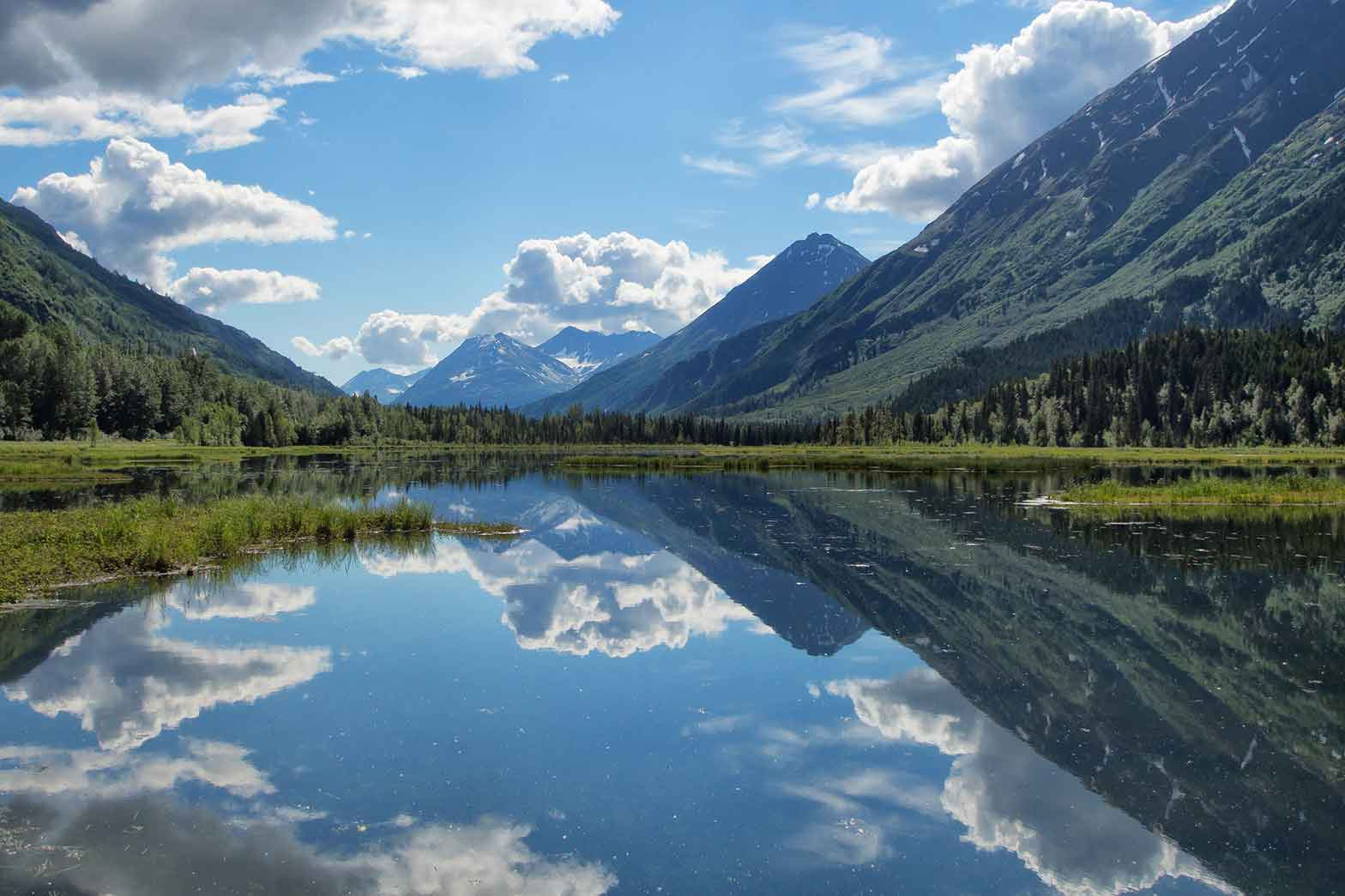 Near Copper landing, Alaska