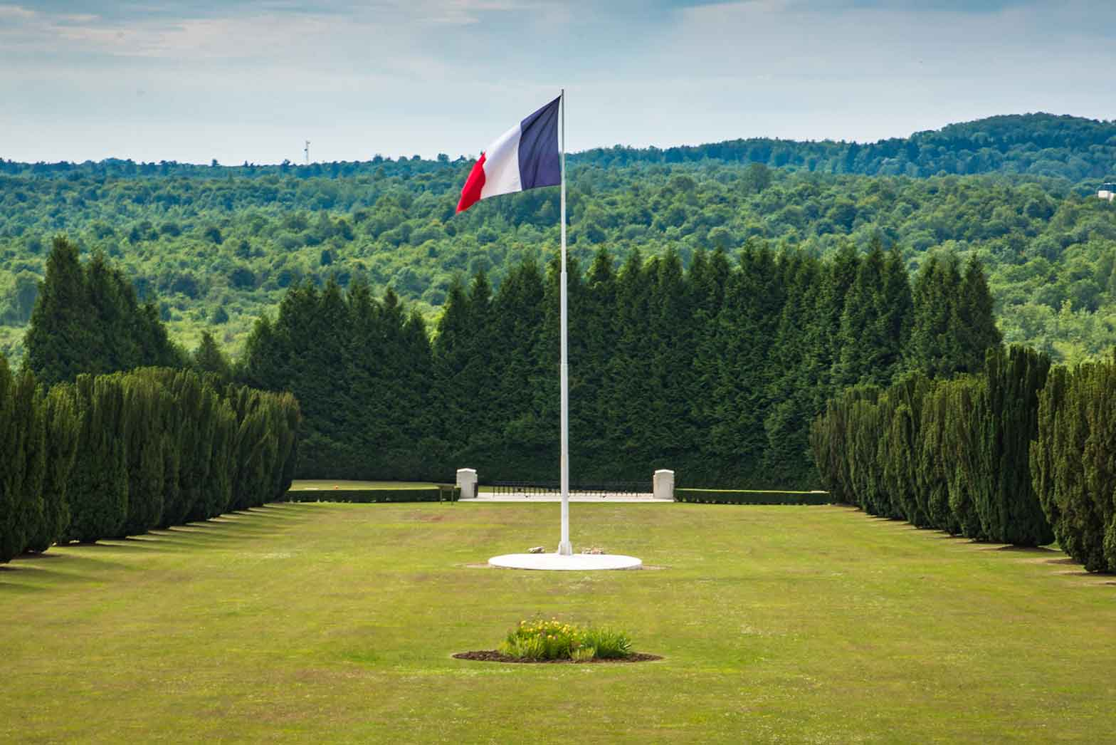 The Douaumont ossuary, Normandy and the North Sea