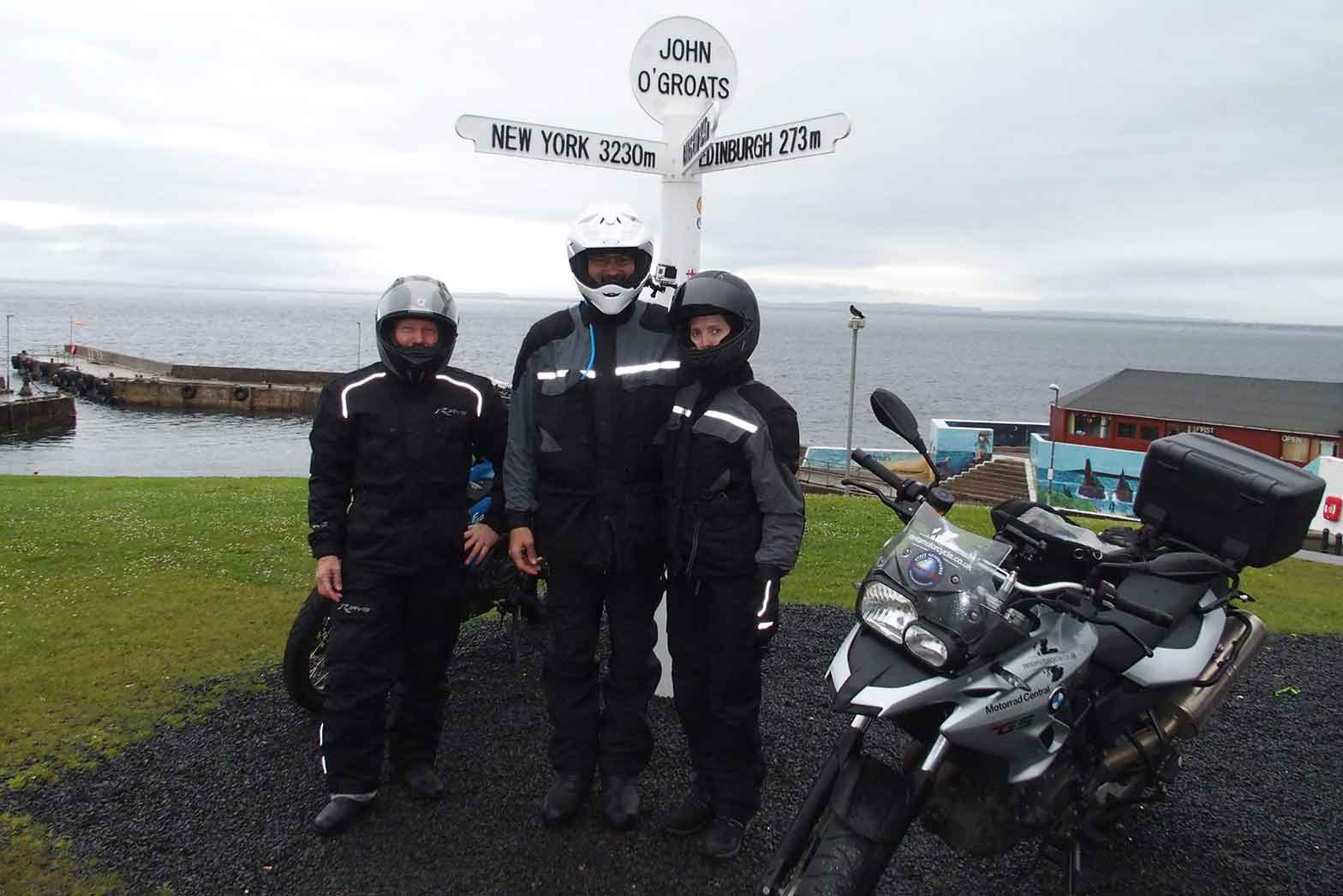 John O'Groats, Northern tip of Scotland