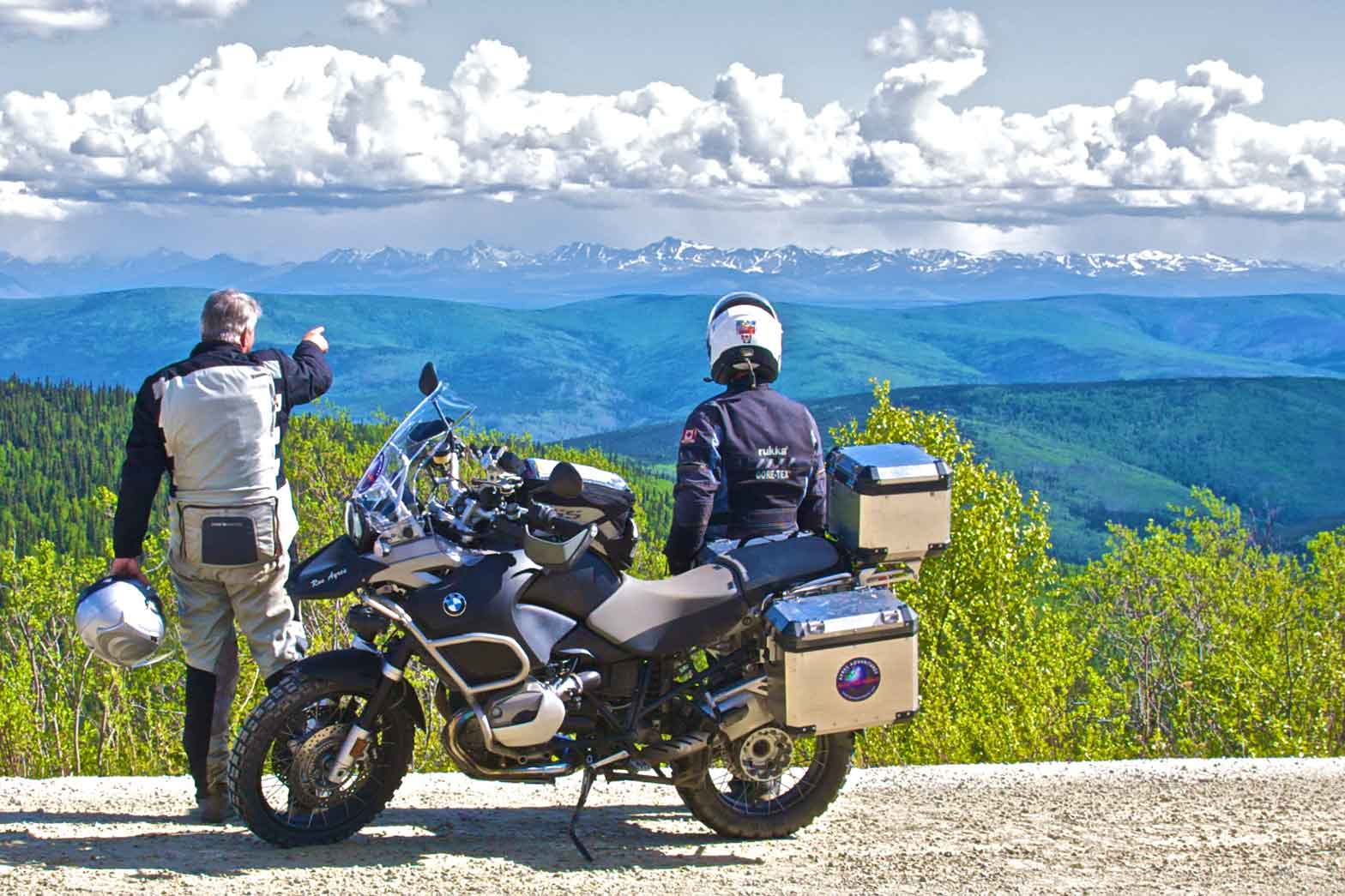 Pausing on the Top of the World Highway – The Yukon