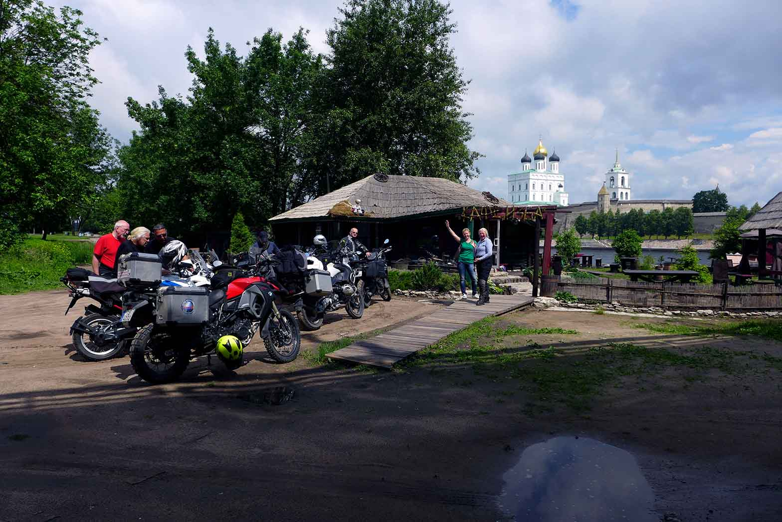 Pskov lunch stop