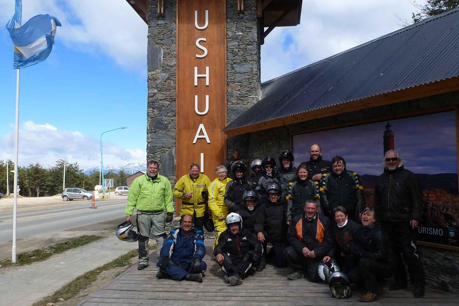 Reaching Ushuaia