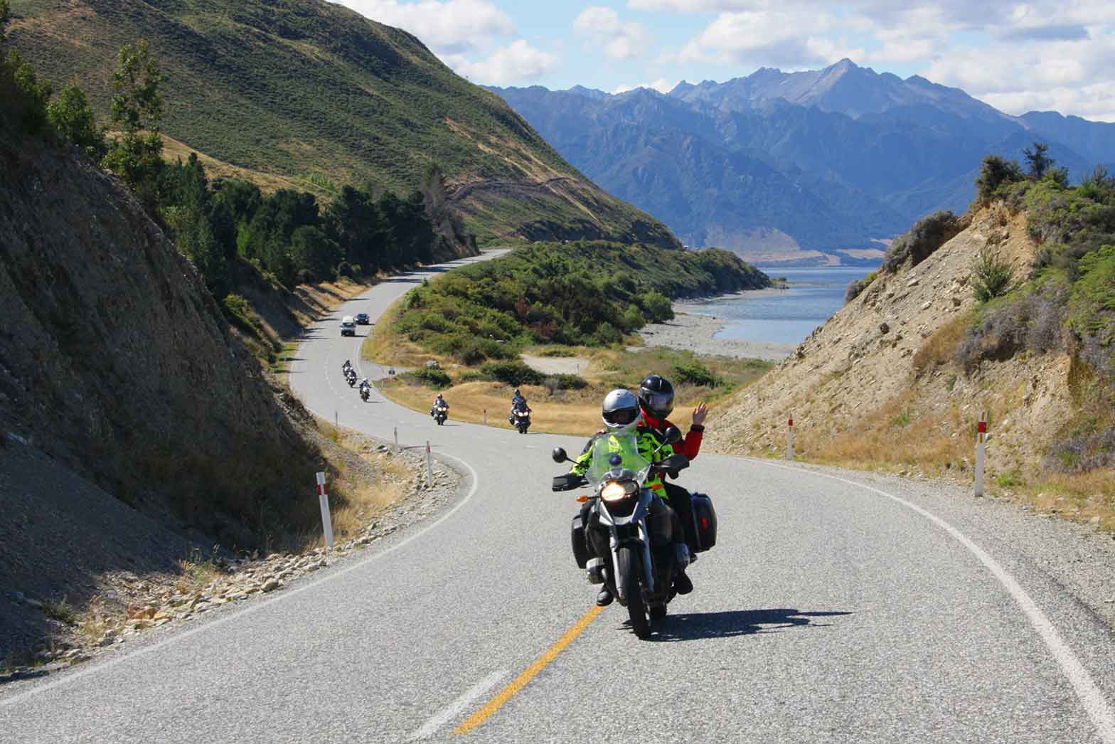 Riding New Zealand roads