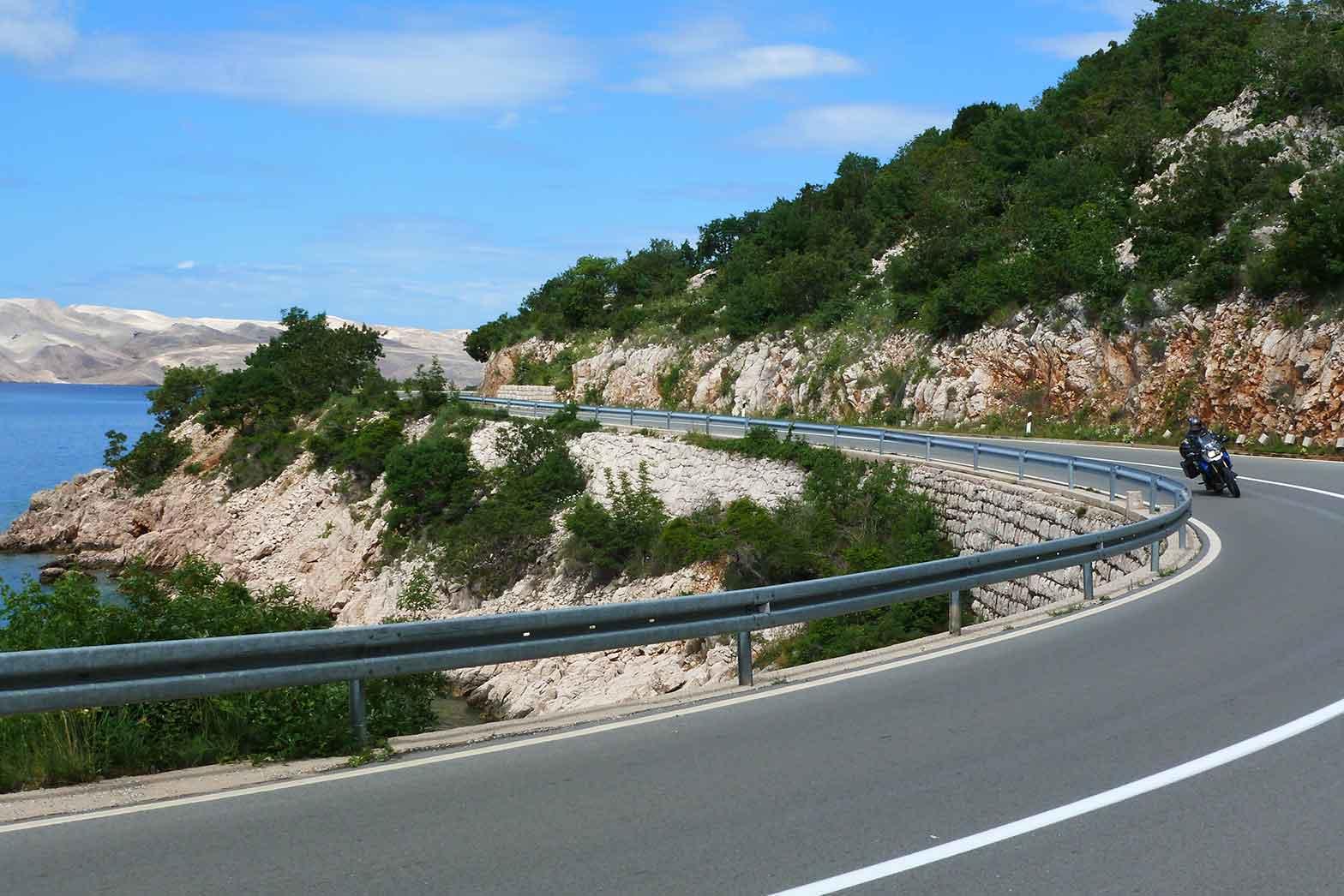 Riding the Adriatic Coast