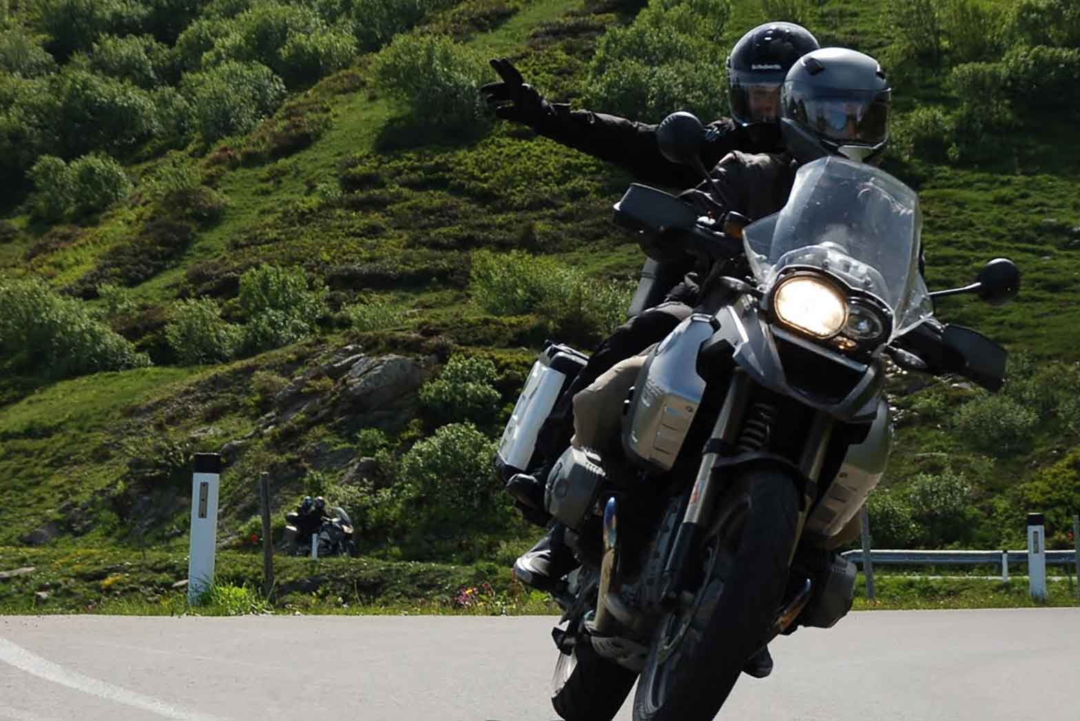 Riding the Alps