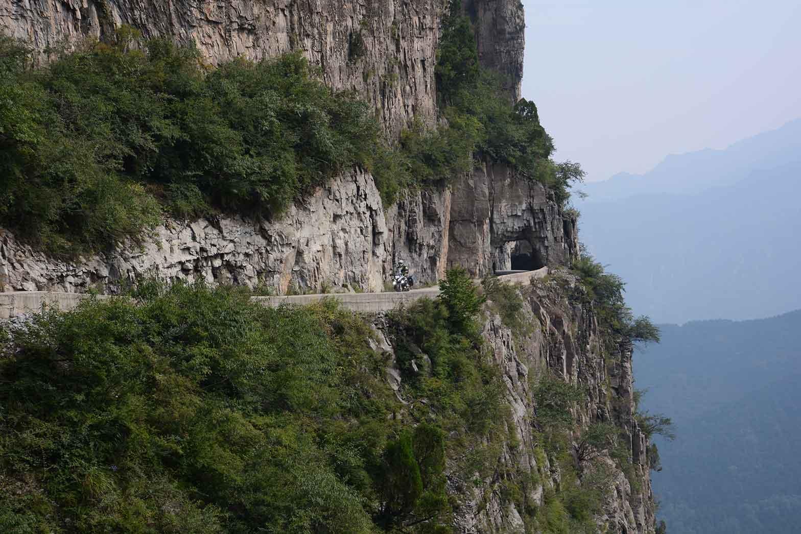 The Guoliang Tunnel, China