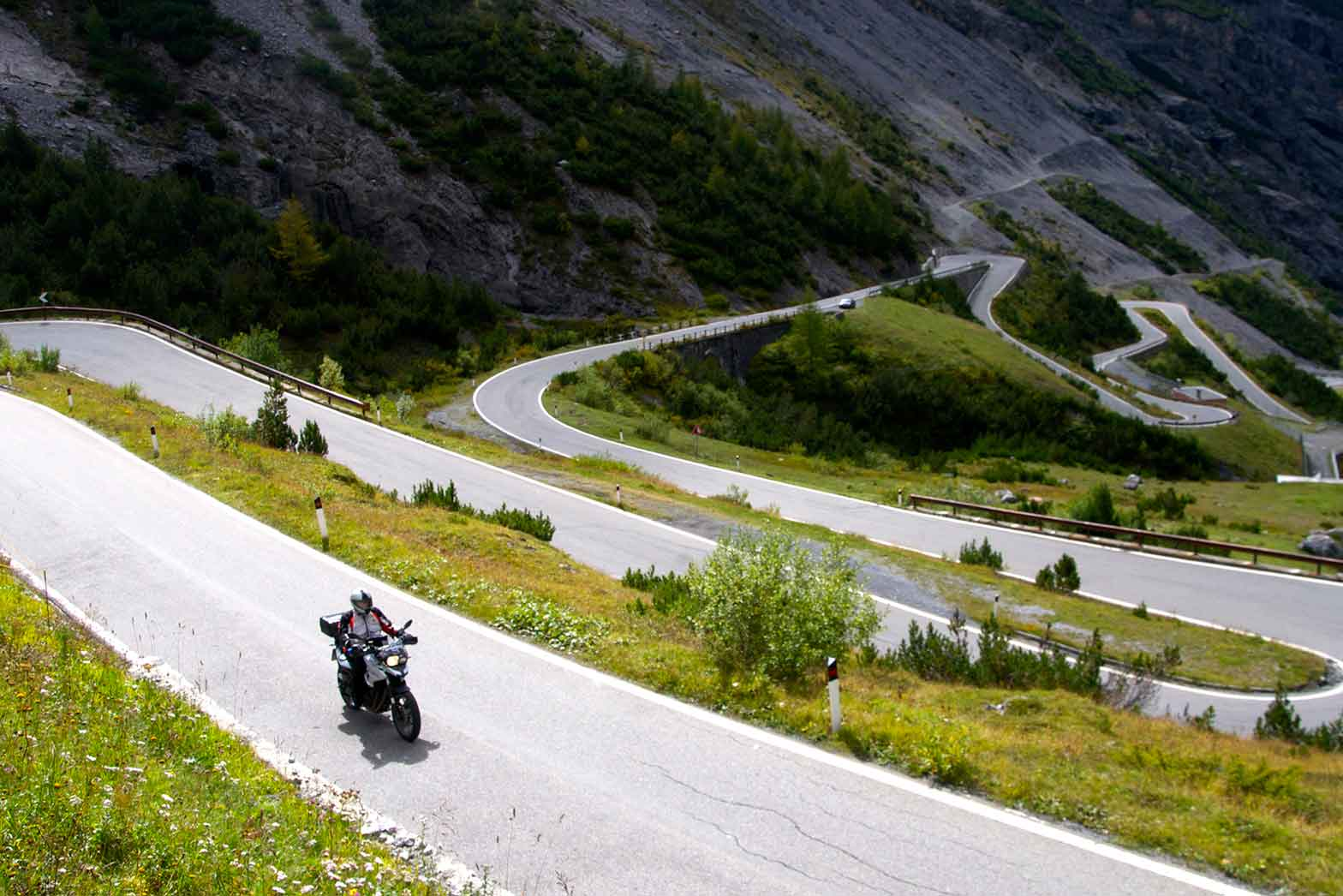 Riding the Stelvio Pass