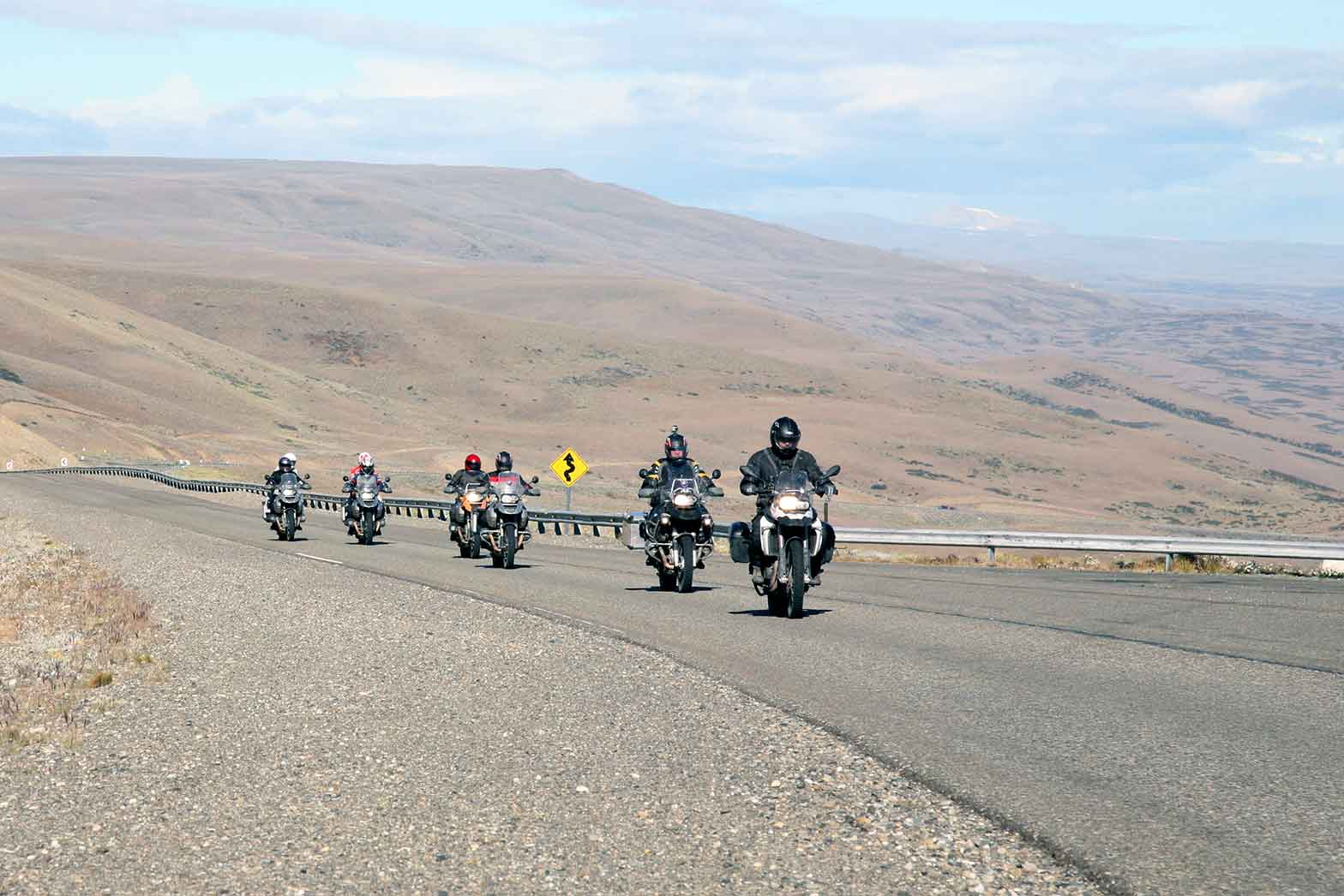 Riding the roads of Patagonia