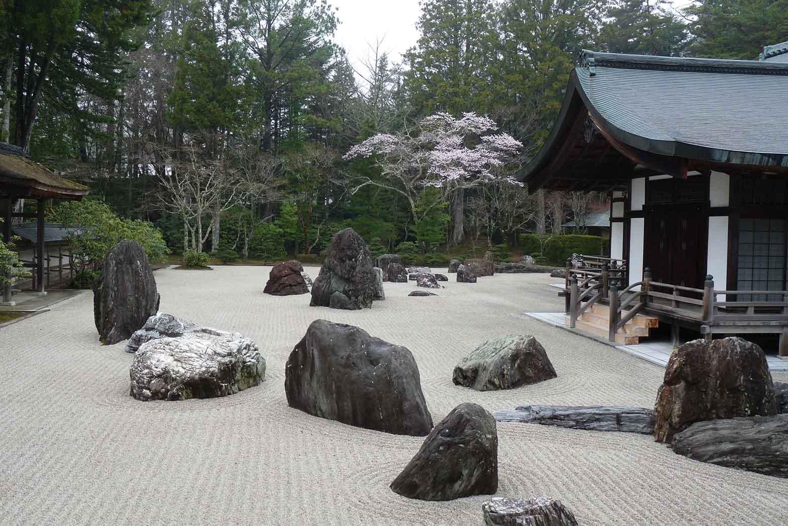 Rock garden, Koyasan