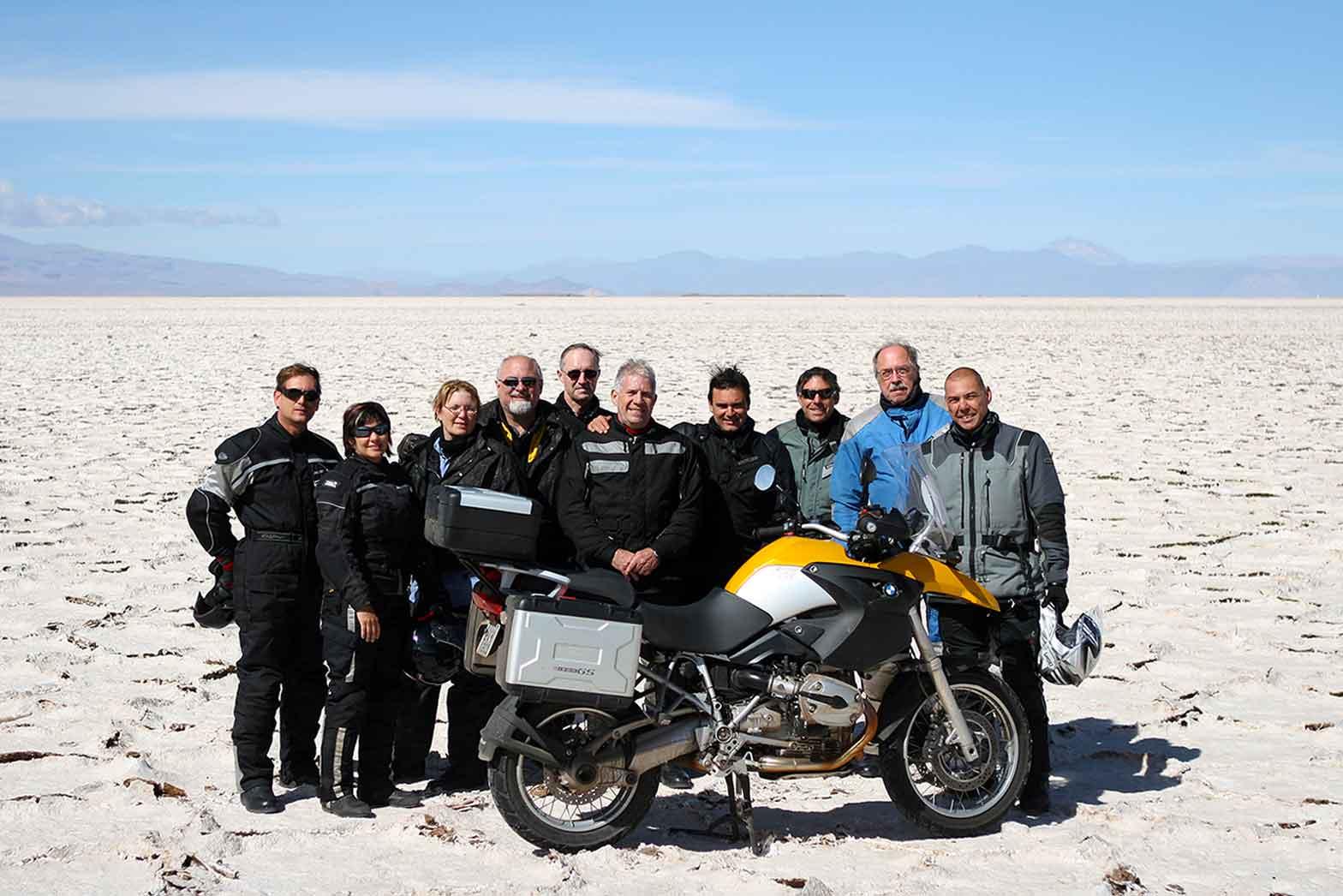 Salt flats of the Atacama Desert