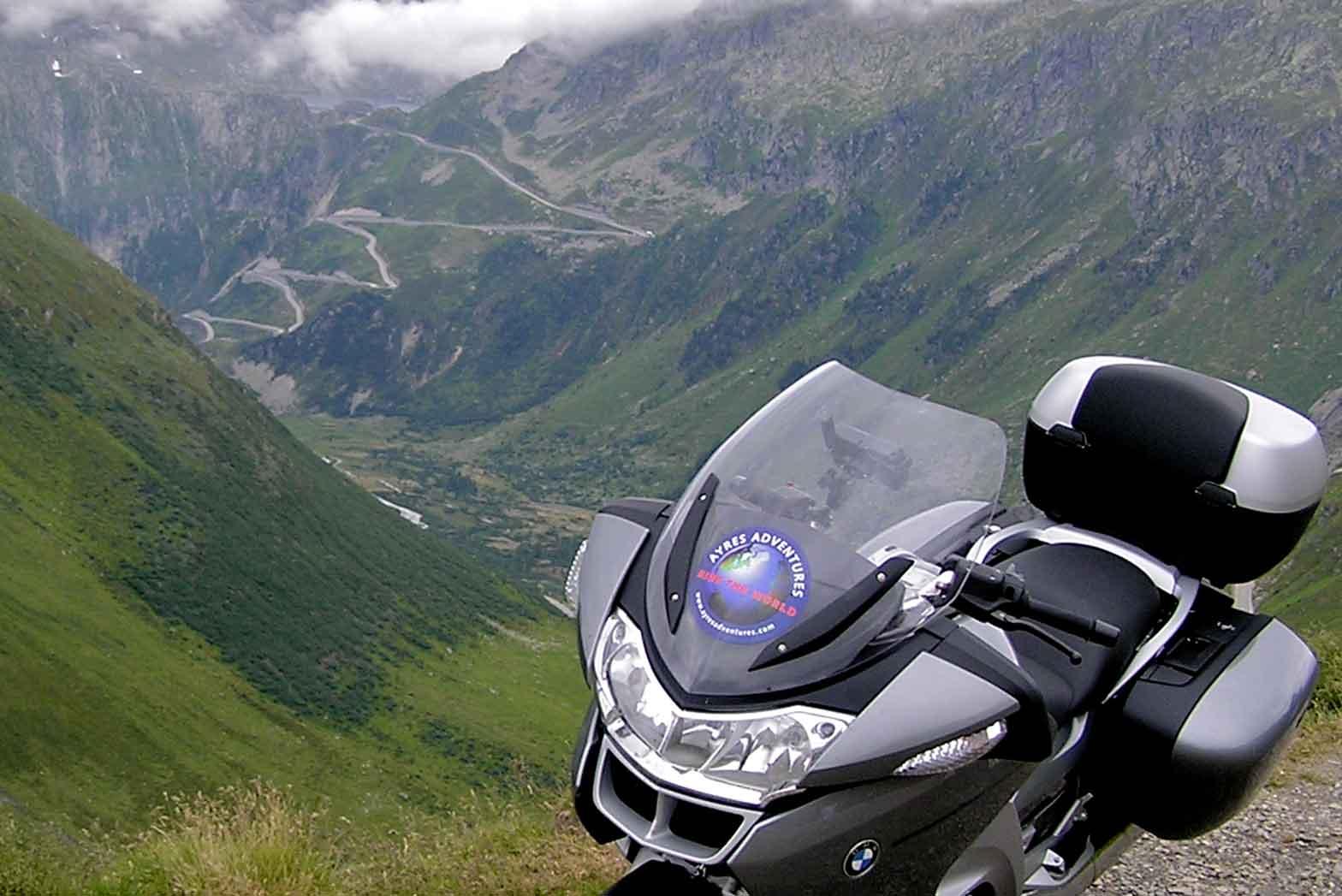 Scenic Alps View