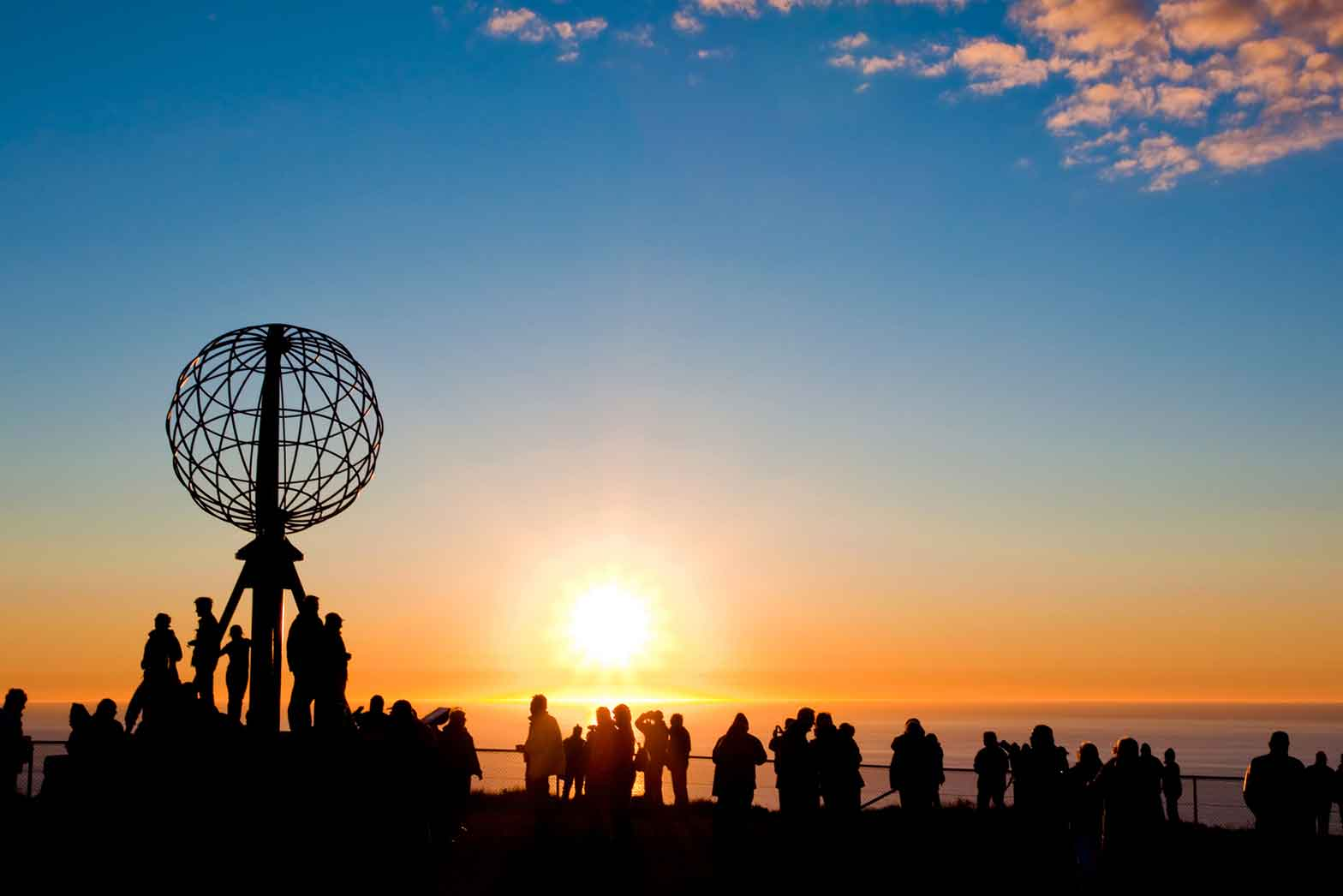 Sunset at the North Cape