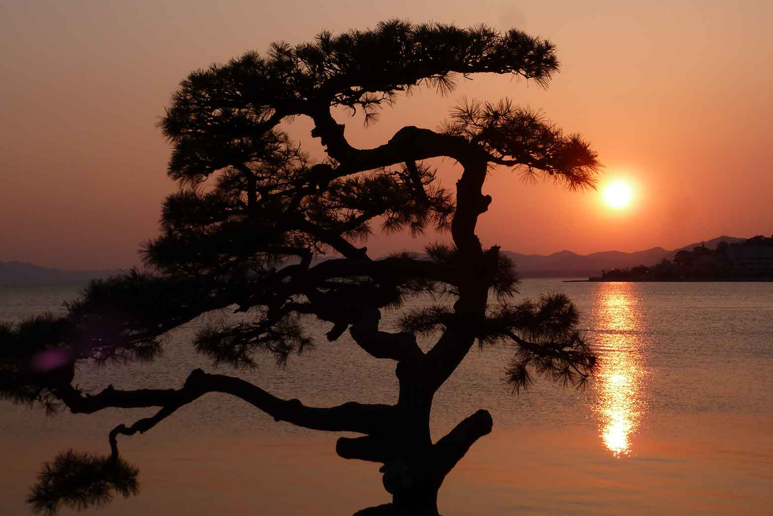 Sunset in Matsue