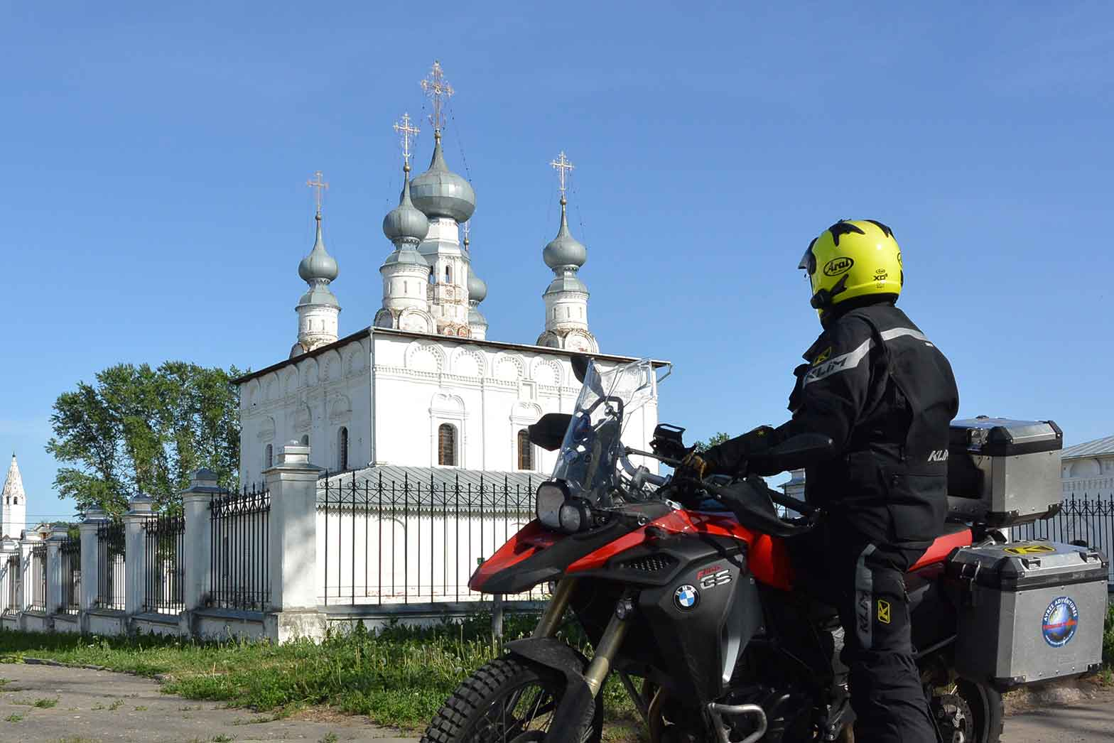 Suzdal Cathedral and Bike