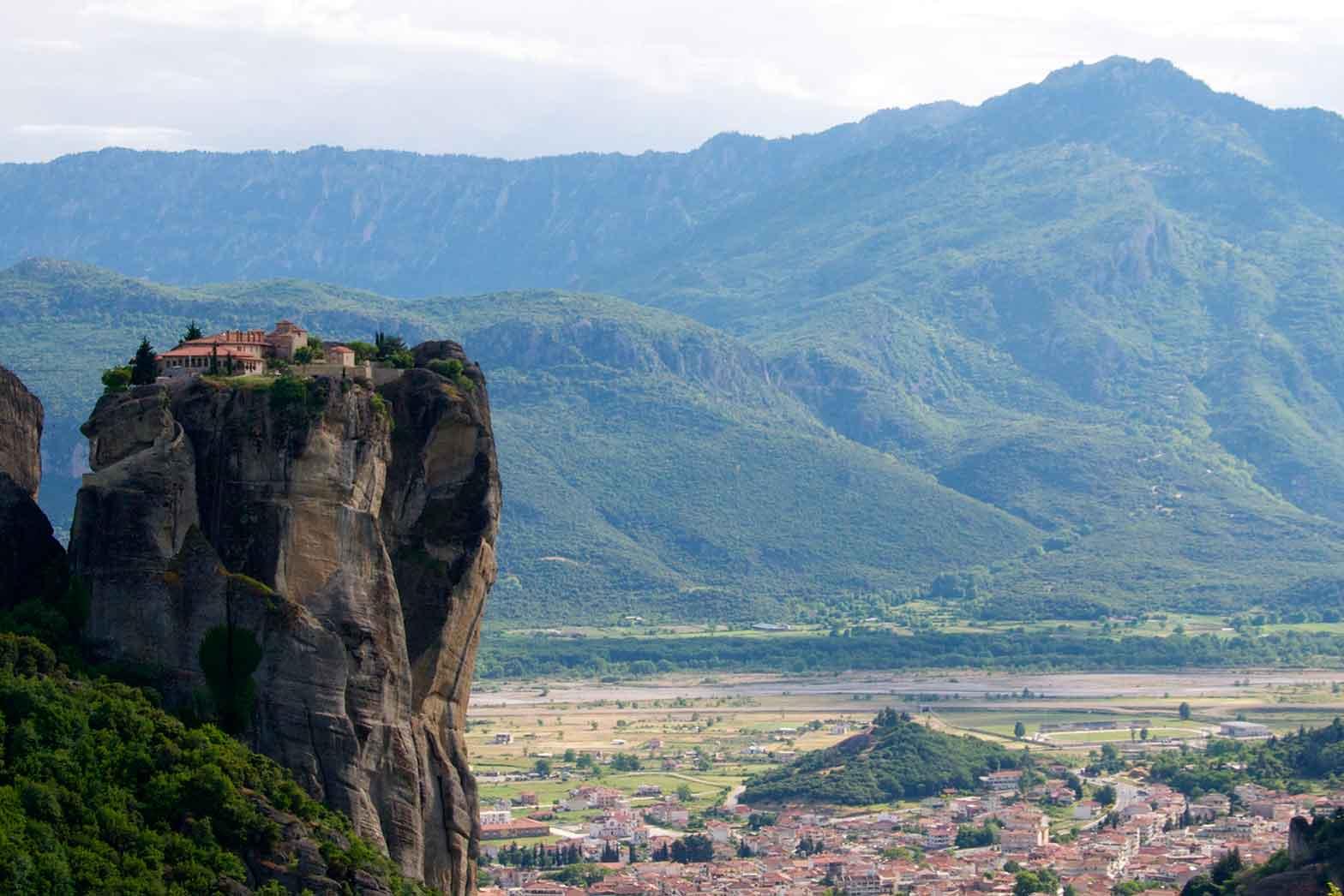 The Meteora Monasteries panorama