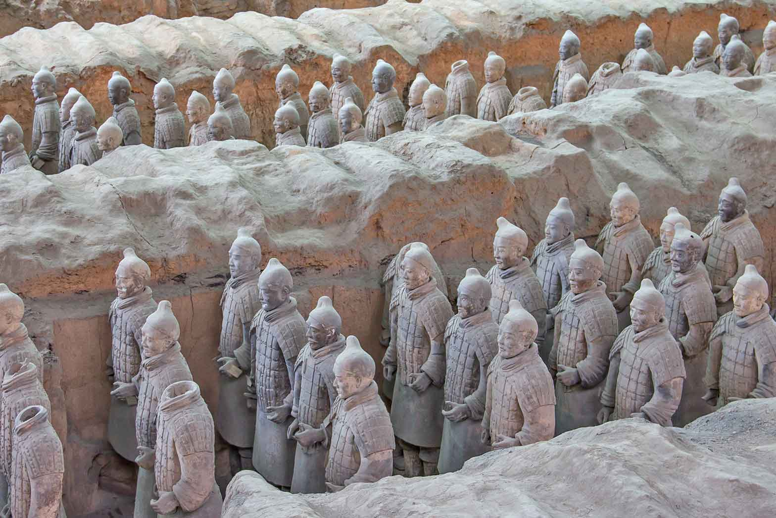 The Terracotta Army, China