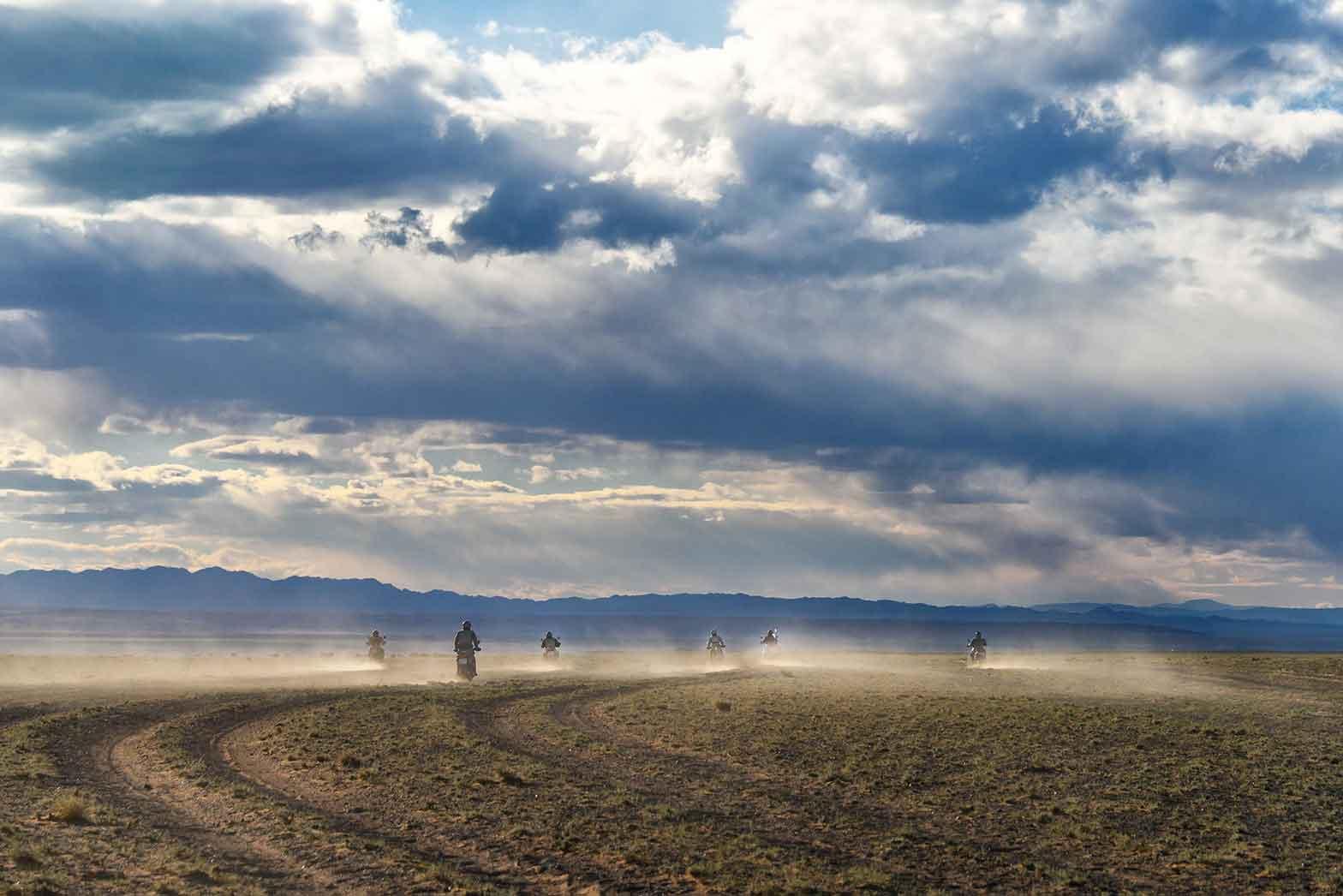 The endless playground of Mongolia