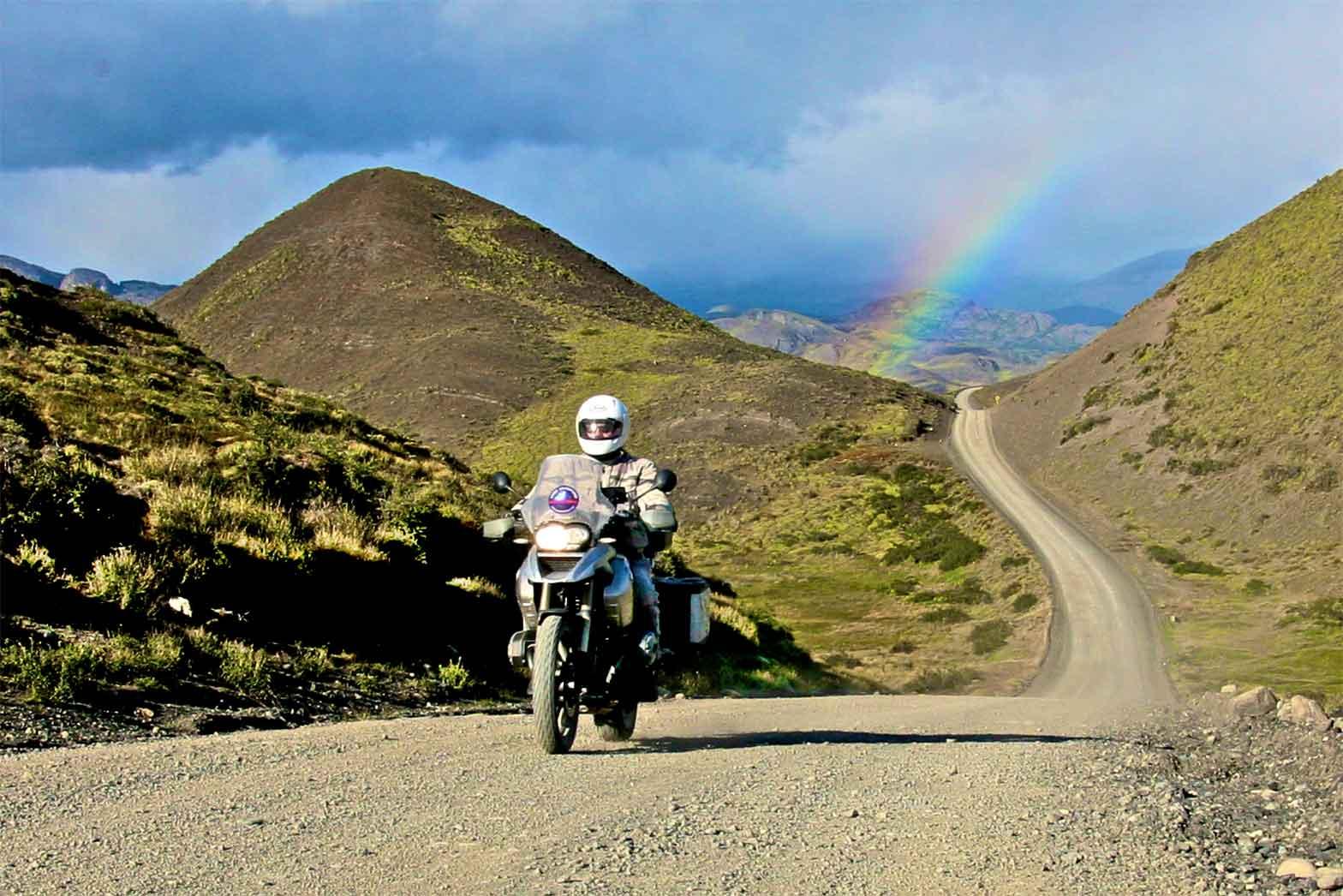 Torres del Paine Rainbow