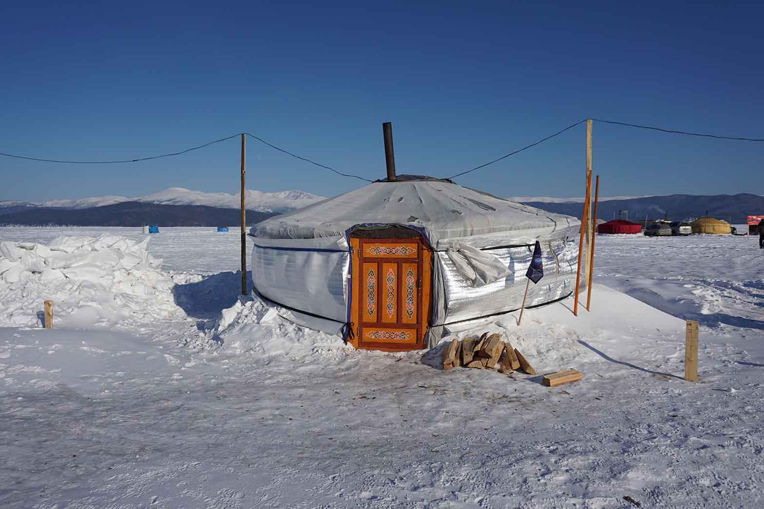 Traditinal Siberian yurt