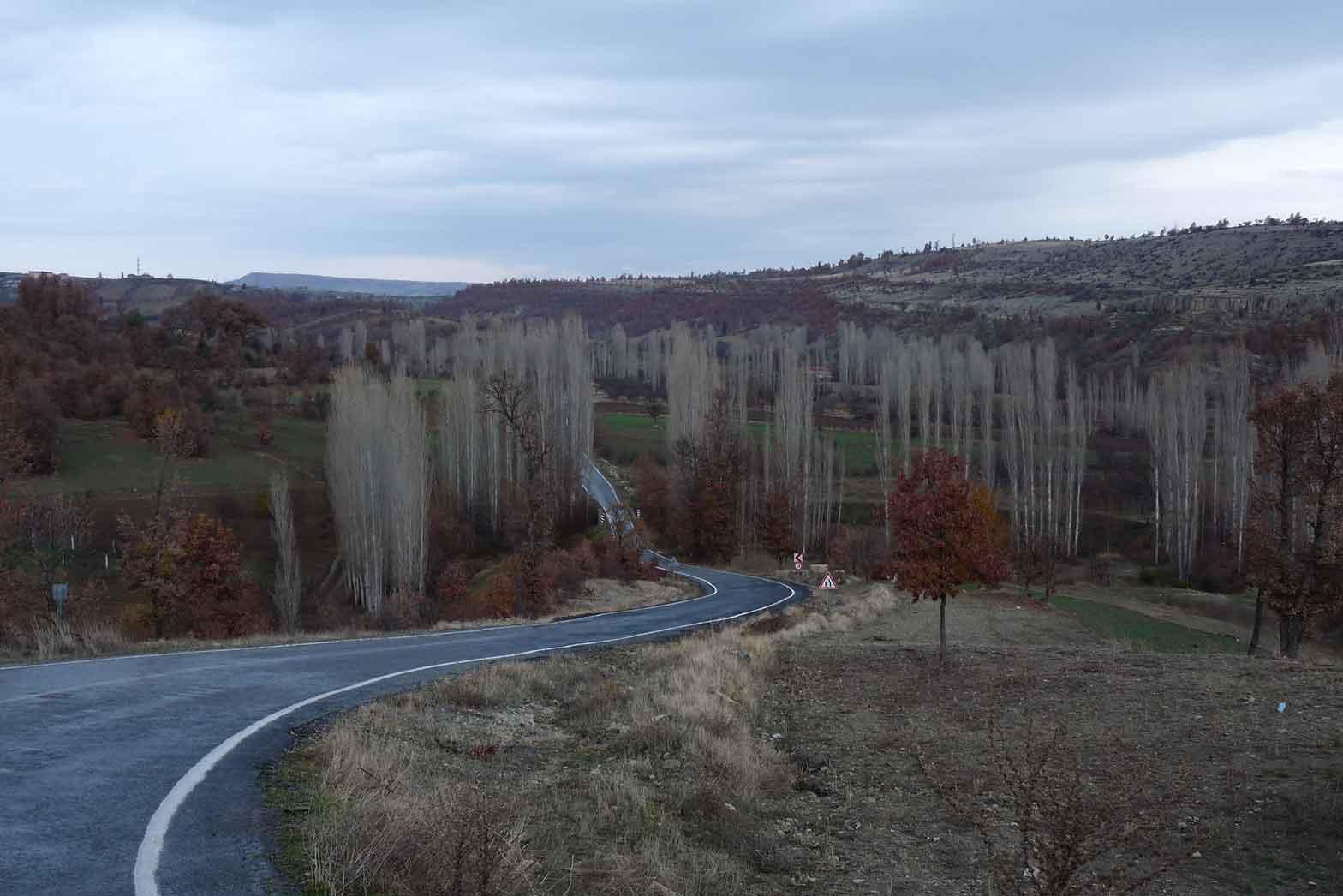 Turkish backcountry road