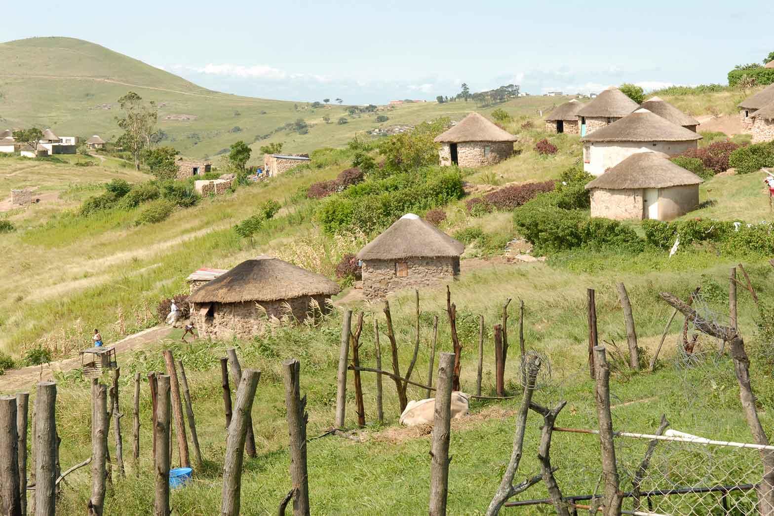 Zulu Village - Kwazulu Natal Province