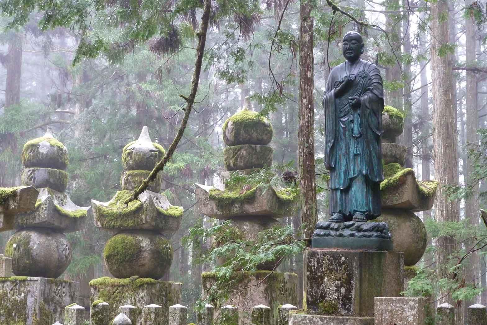 Cemetery Koyasan, Japan