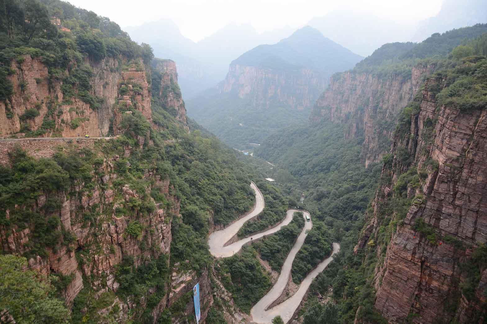 The Taihang mountains, China