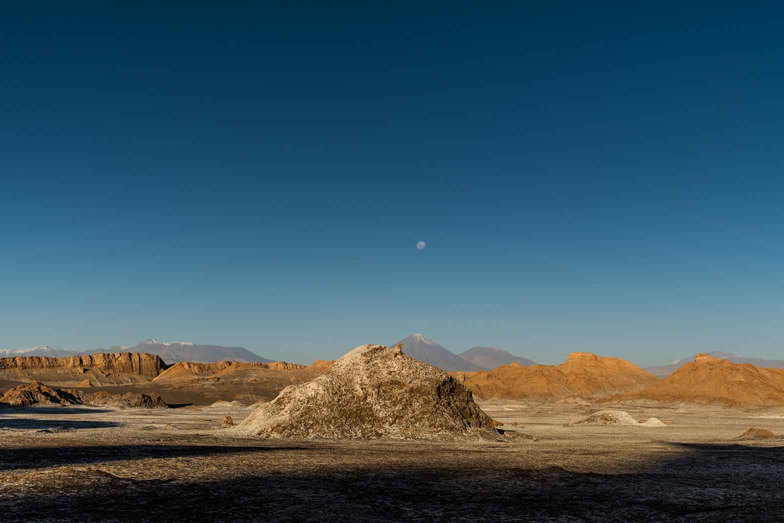 The highest point at Moon Valley in the Atacama desert.