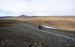 Gravel Motorcycle Riding in Iceland, Ayres Adventures