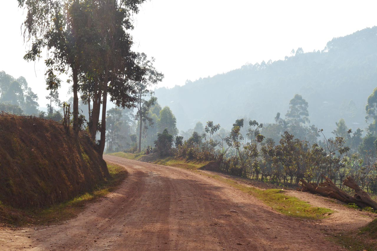 Morning Ride in Uganda, Heart of Africa, Day 5, Motorcycle Tour by Ayres Adventures