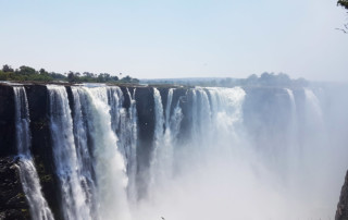 African Call of the Wild Motorcycle Tour 2016, the Victoria Falls