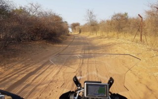 African Call of the Wild Motorcycle Tour 2016, Motorcycle Riding in Namibia