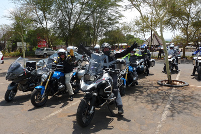 African Panorama Motorcycle Tour in Africa Day 1