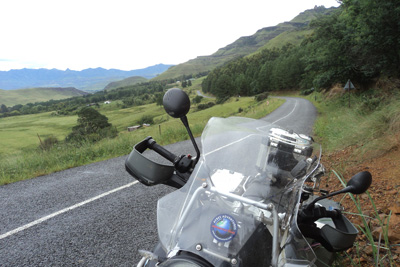 African Panorama Motorcycle Tour in Africa Day 8