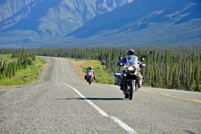 Alaska Yukon Adventure, Motorcycle Tour in North America, Day 2