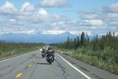 Alaska Yukon Adventure, Motorcycle Tour in North America, Day 3