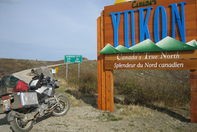 Alaska Yukon Adventure, Motorcycle Tour in North America, Day 5