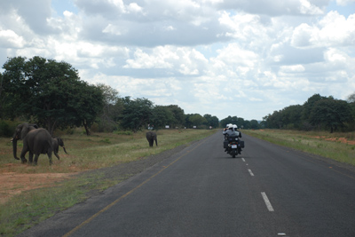 Call of the Wild Motorcycle Tour in Africa Day 4