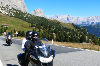 Dramatic Dolomites Motorcycle Tour in the Alps, Day 3
