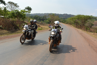 Heart of Africa Motorcycle Tour in Africa Day 7