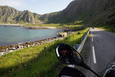 Norwegian Midnight Sun, Motorcycle Tour in Norway, Day 11