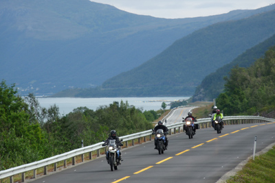 Norwegian Midnight Sun, Motorcycle Tour in Norway, Day 13
