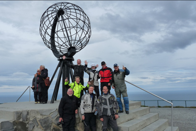 Norwegian Midnight Sun, Motorcycle Tour in Norway, Day 14