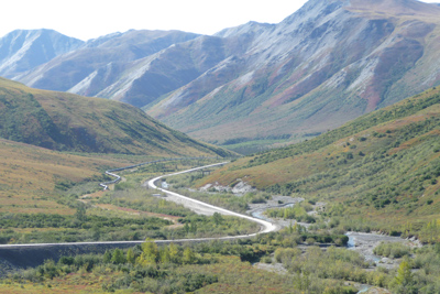 Prudhoe Bay Excursion Motorcycle Tour in Alaska, Day 2