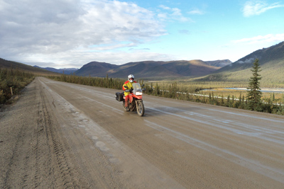 Prudhoe Bay Excursion Motorcycle Tour in Alaska, Day 5