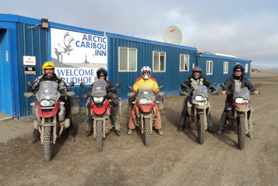 Prudhoe Bay Excursion Motorcycle Tour in Alaska, Day 6