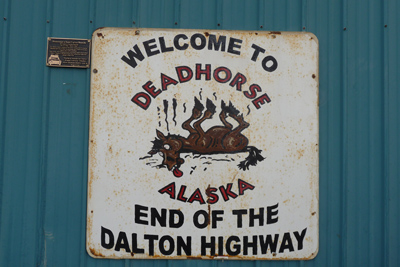 Prudhoe Bay Excursion Motorcycle Tour in Alaska, Day 9