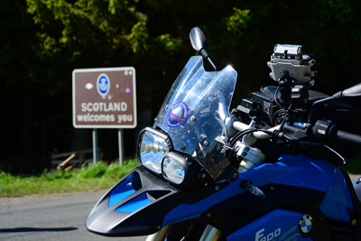 Scotland - Castles, Kilts and Whisky Tour Motorcycle Tour in Scotland, Day 2