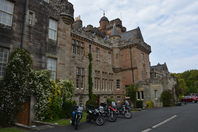 Scotland - Castles, Kilts and Whisky Tour Motorcycle Tour in Scotland, Day 3