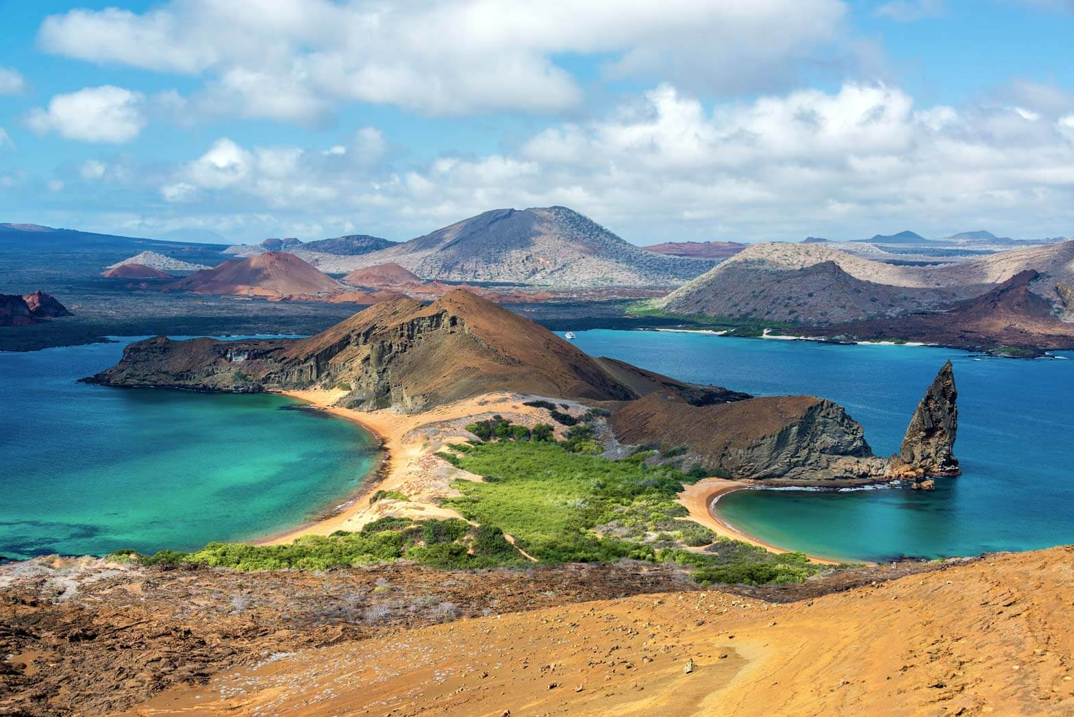 The Galapagos Islands in Ecuador